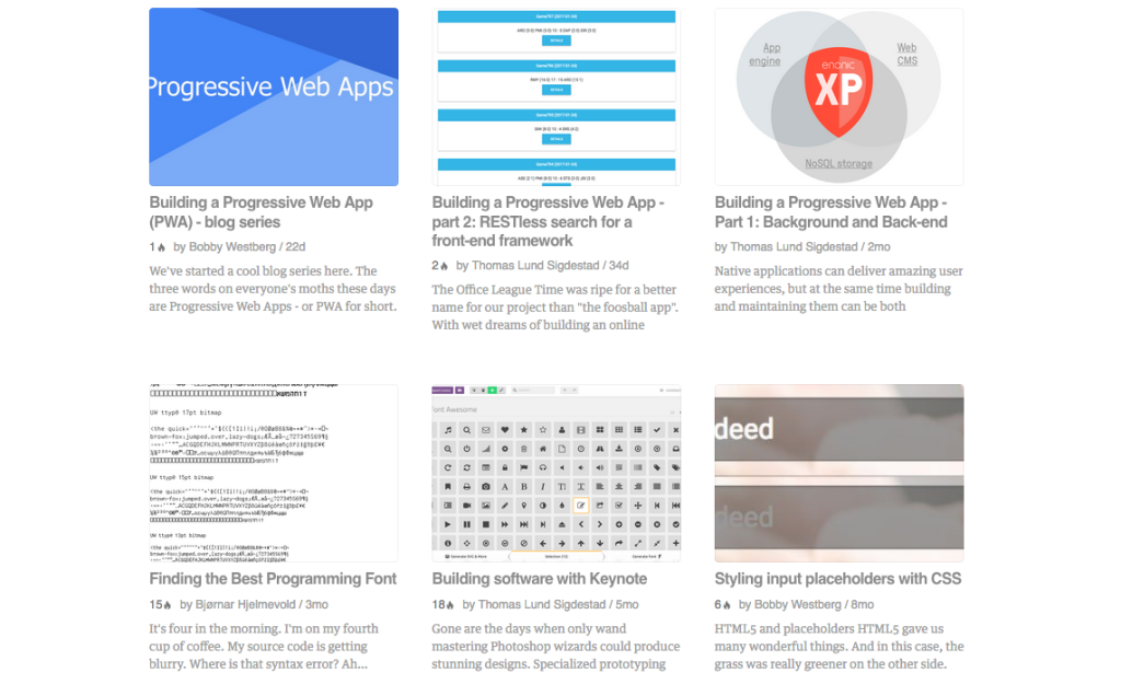 RSS feeds - Enonic Market
